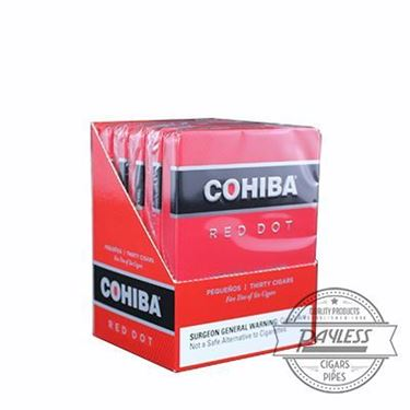 Cohiba Pequenos (5 tins of 6) Red sleeve packaging